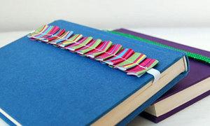 Bookmark từ dây ruy băng siêu dễ làm