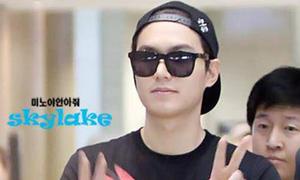 Lee Min Ho nghịch ngợm đội mũ ngược