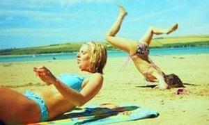 Những bức ảnh kỳ quặc trên bãi biển