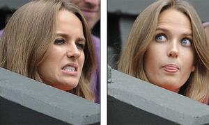 Bạn gái hỉ, nộ, ái, ố vì Andy Murray