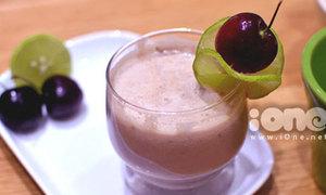 Sảng khoái với sinh tố cherry mát lạnh