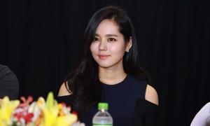 Han Ga In quyến rũ ra mắt truyền thông Việt Nam
