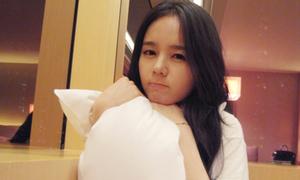 Han Ga In mặt mộc vẫn xinh đẹp mỹ miều