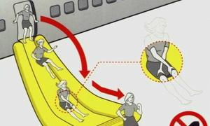 90 giây thoát thân khi máy bay gặp nạn