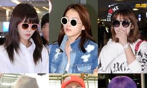 Sao Hàn sành điệu với 3 kiểu kính râm hot