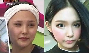 Video: Nhan sắc chưa trang điểm của hot boy, hot girl Hàn