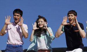 'Hoàng tử Thái' Nichkhun nhí nhố trong phim Trung Quốc
