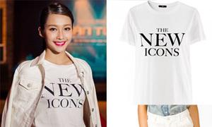 Copy sao: mix T-shirt 130k sành điệu như Khả Ngân
