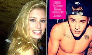 Justin Bieber tiệc tùng thâu đêm với mẫu trẻ