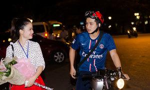 Dương Hoàng Yến hẹn hò chớp nhoáng với người yêu ở Hà Nội