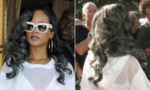 Hot or not: Rihanna đổi màu tóc xám