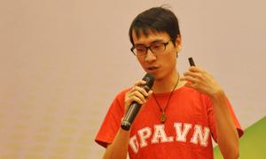 Toàn Shinoda khuấy động hội thảo du học Mỹ