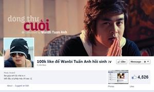 Teen bức xúc fanpage 'tưởng niệm' Wanbi để câu like