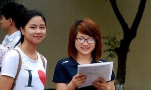 ĐH Ngân hàng, Học viện Y Dược học cổ truyền công bố điểm