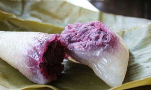Lạ miệng món bánh nhân khoai lang tím
