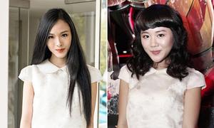 Văn Mai Hương đụng suit trắng xì tin với Hoa hậu người Việt