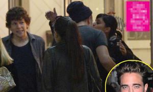 Robert Pattinson hôn gái lạ tại Toronto