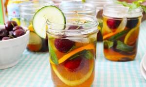 Cocktail hoa quả náo nhiệt picnic
