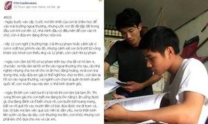 Nam sinh Ngoại thương muốn bỏ học vì quá nghèo