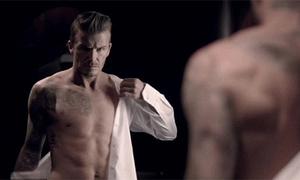Beckham lạnh lùng 'chuẩn men' khoe body hút hồn