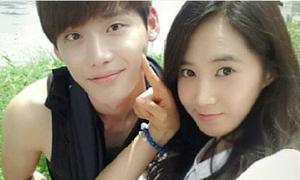Yuri SNSD khoe ảnh tình cảm bênLee Jong Suk