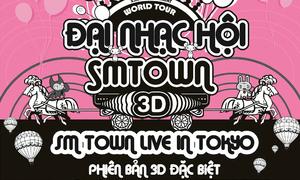 'SM Town live in Tokyo' chính thức đến Việt Nam