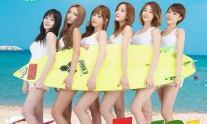 T-ara đãi fan với 'Bikini' 6 thành viên