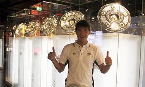 Công Vinh hớn hở thăm thú sân nhà Bayern Munich