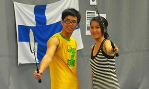 Du học sinh Việt khoe dáng khỏe tại Phần Lan