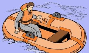 Thoát thân khỏi chiếc tàu gặp nạn