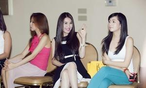Quế Vân đi thi Hoa hậu người Việt hoàn cầu