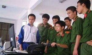 Các trường quân sự công bố điểm chuẩn năm 2013