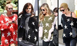 Mẫu áo len rách khiến sao Hollywood phát cuồng