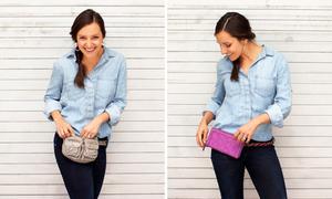 Sành điệu ví đai thắt lưng tiện dụng theo 2 cách