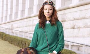 Street style giới trẻ khu nhà giàu Gangnam