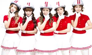Crayon Pop bị nghi bắt chước phong cách nhóm nữ Nhật