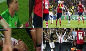 Thắng trận, sao Arsenal thi nhau đổ máu