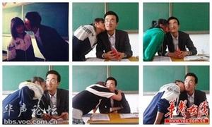 Thầy giáo bị tố ép nữ sinh hôn má khi nhận bằng