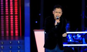 Hot boy The Voice hát về chuyện tình Quốc Trung - Thanh Lam