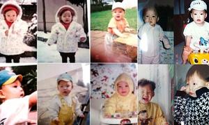 Ảnh thời nhỏ đáng yêu của Kim Woo Bin