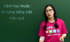 Cô giáo Hàn Quốc 9X dạy tiếng Việt cực kute