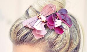 Kẹp tóc nơ bướm điệu đà cài tóc