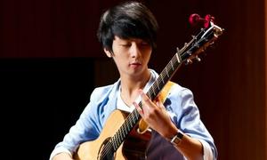 'Thần đồng guitar Hàn Quốc' đến Việt Nam