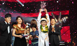Quang Anh giành quán quân Giọng hát Việt nhí