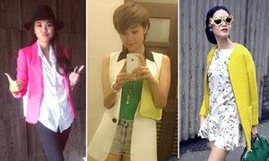 Xì ta, hot girl Việt chuộng phong cách cá tính tuần qua