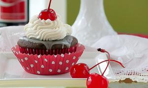 Cupcake cherry mix coca-cola lạ miệng cuối tuần