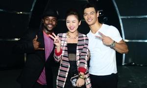 Văn Mai Hương nhắng nhít bên vũ công nước ngoài