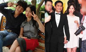 Những khoảnh khắc chu môi đáng yêu của Song Hye Kyo