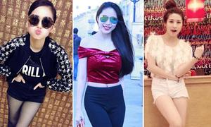 Xì ta, hot girl Việt khoe cá tính với style đầu thu
