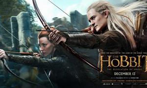'The Hobbit' 2 tung poster mới long lanh
